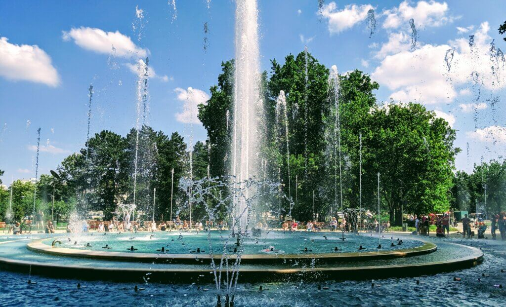 The musical fountain on Margaret Island is one of the 25 free and fun things to do in Budapest.