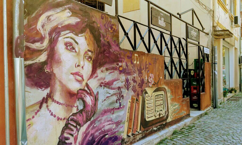 Kapana's and the Stunning Street Art makes Plovdiv a must visit place on any Bulgarian Itinerary
