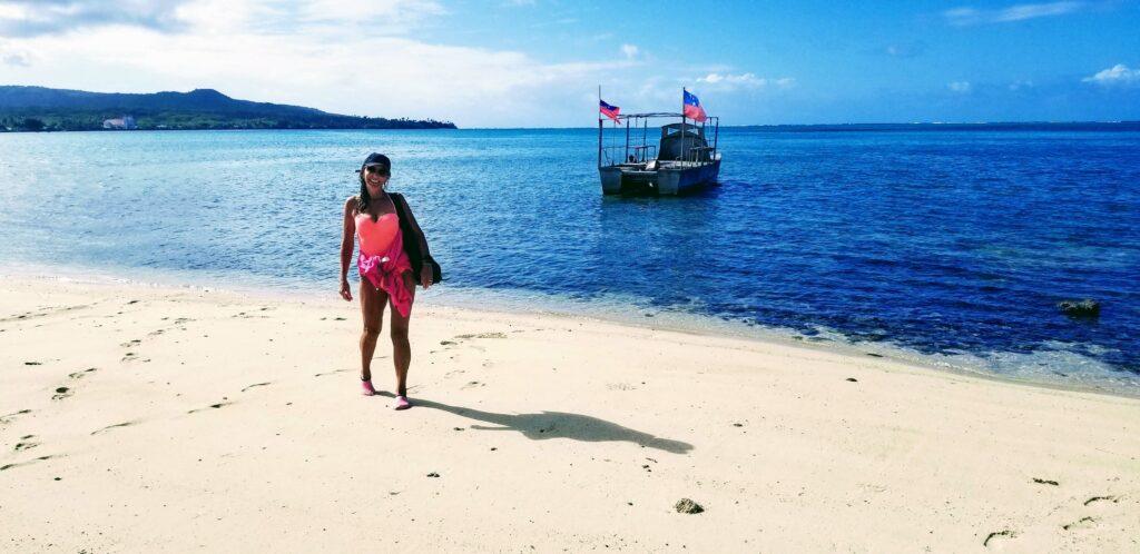 The Beach on Namua Island