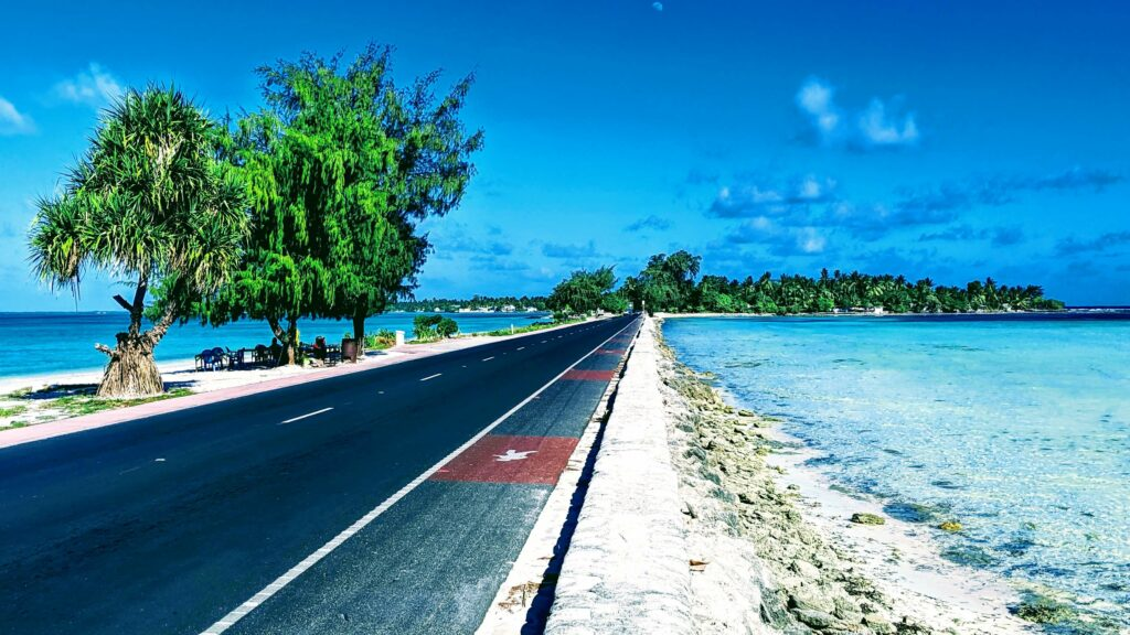 Tarawa's Main Road