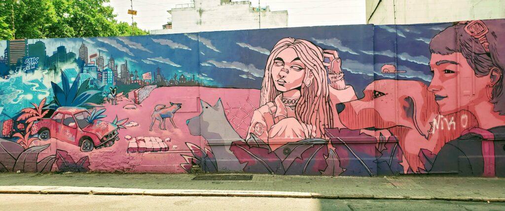 Montevideo Street Art in Cordon