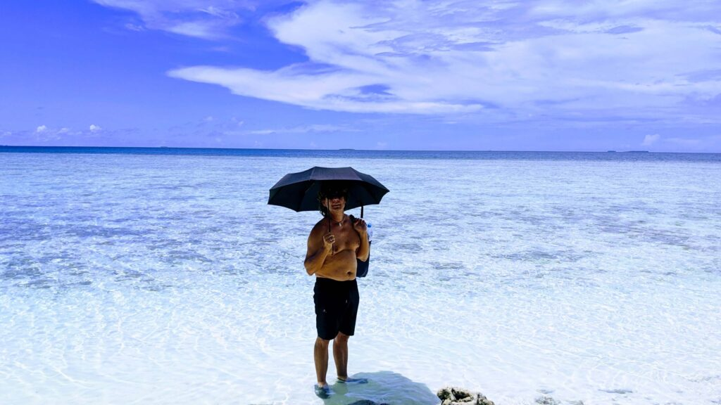 The Pristine Water in the Outer parts of Tuvalu make it a place that is worth a visit