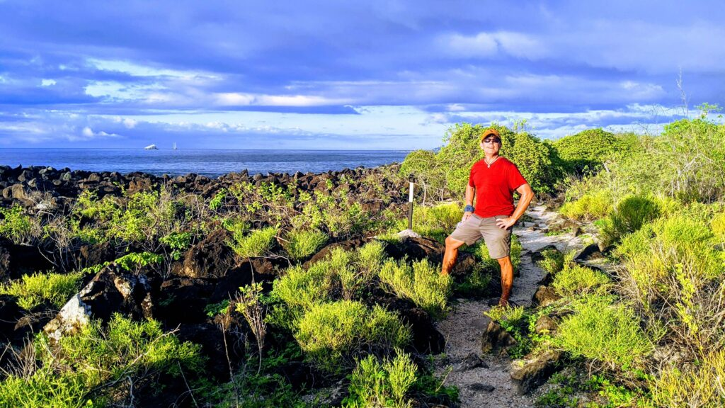 Galapagos hiking is always on a budget as it is free on San Cristobal