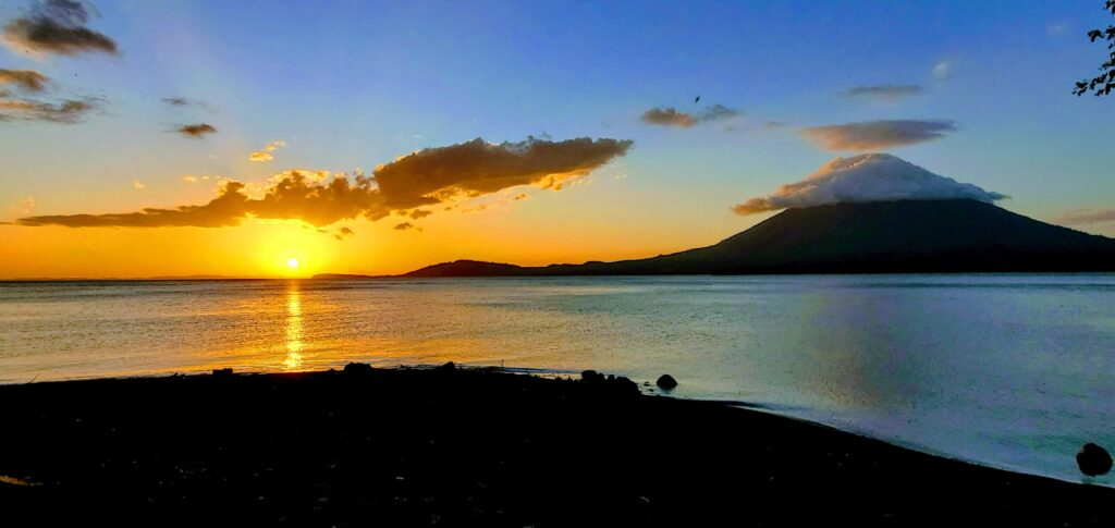 Sunset - Affordable Paradise on Ometepe