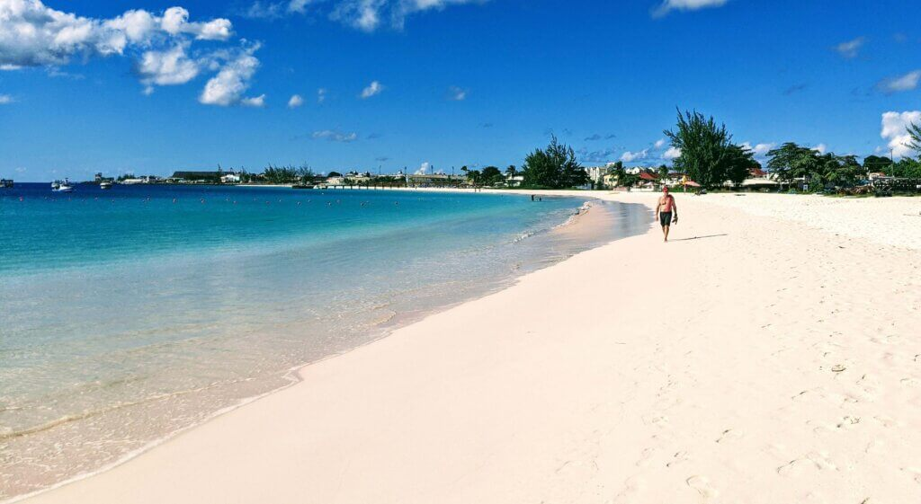 Living in Barbados is all about the beaches