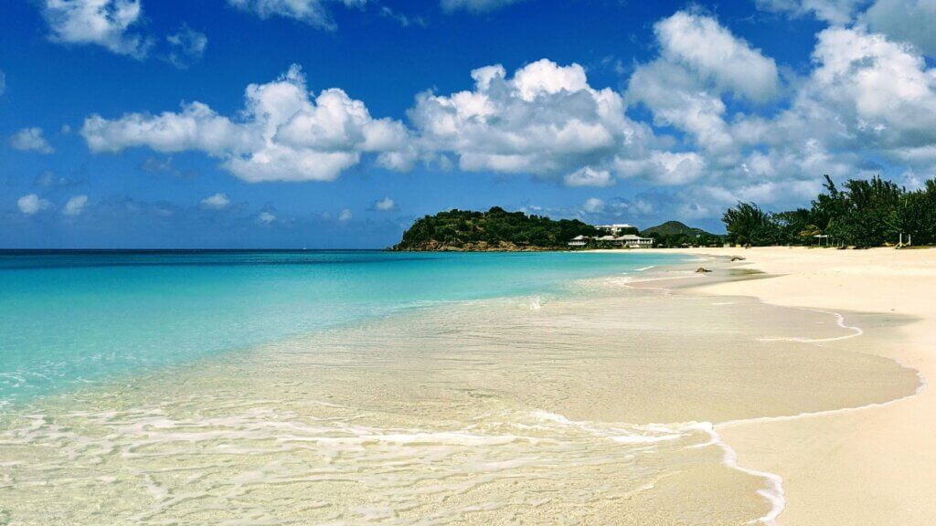 Ffryes beach is one of the best beaches in Antigua