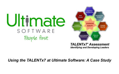 The TALENTx7 & Ultimate Software Case Study