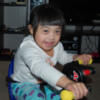 Girl with Disabilities