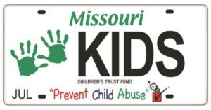 Children's Trust Fund License Plate