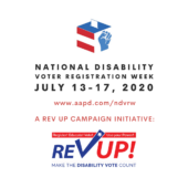 National Disability Awareness Week Logo