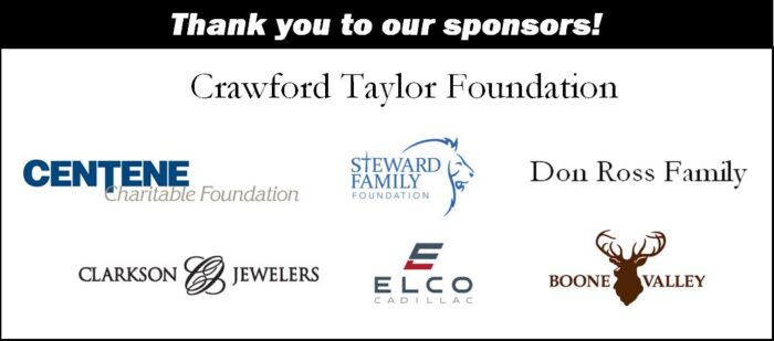 Sponsors for the Autism Golf Tournament