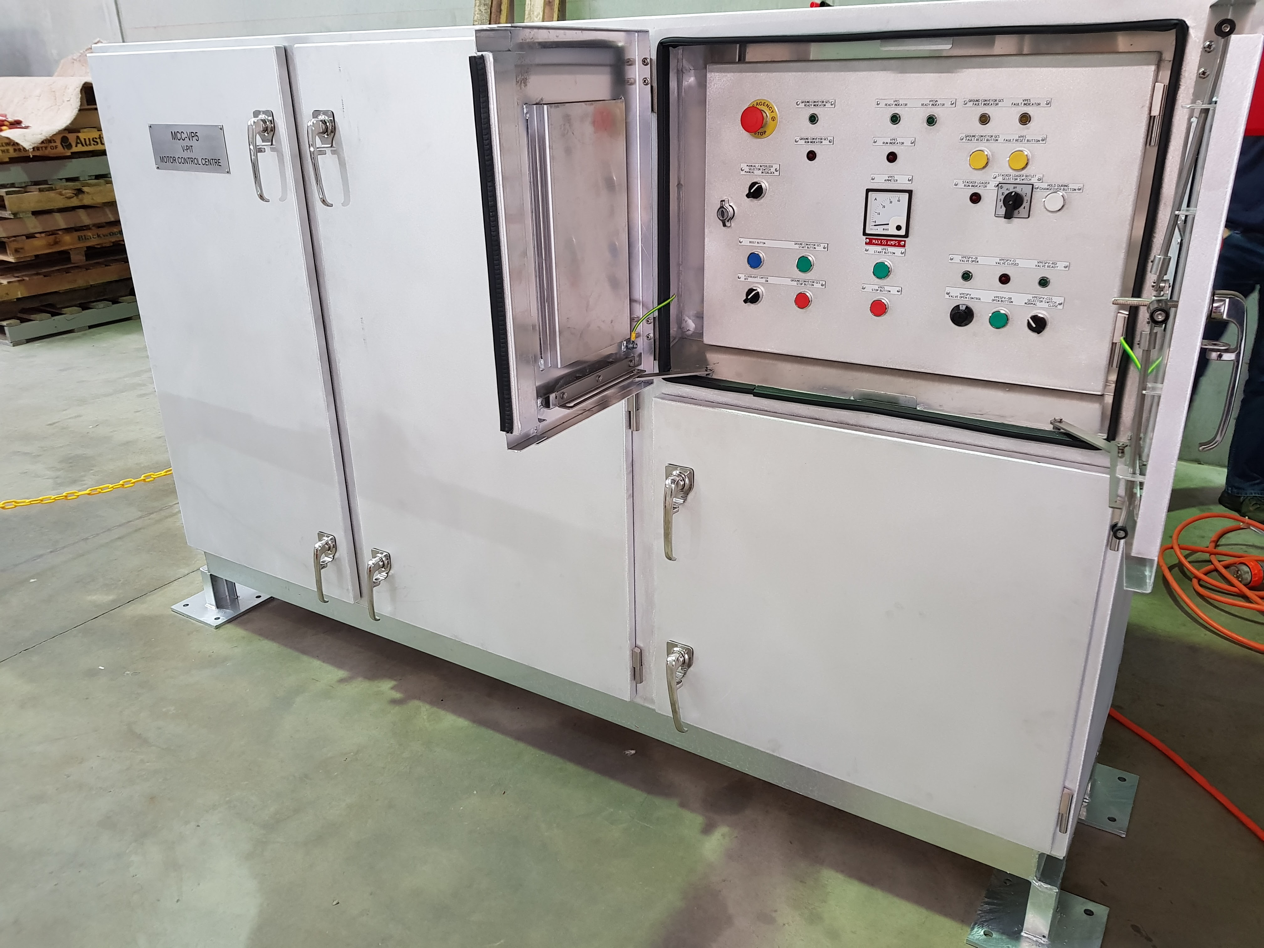 MCCs for CBH Group Cascade Operation