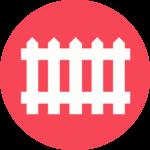 Dog Fence Icon