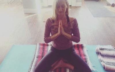 The making of each yoga class….