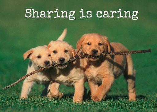 A time to share