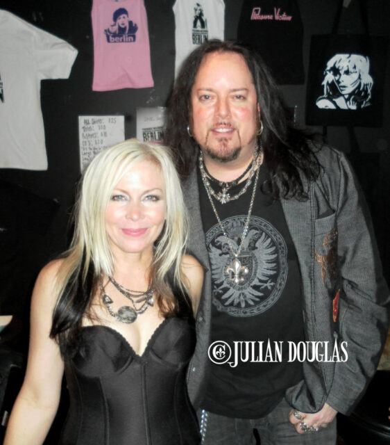 Terri Nunn & I after her show with Berlin 10/9/10.