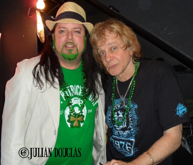 Headking into VIP with Eddie Money after his show on St. Patrick's Day 3/17/11.