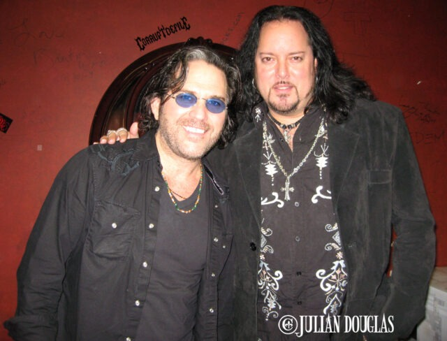 With Kip Winger after his acoustic show 7/3/09.