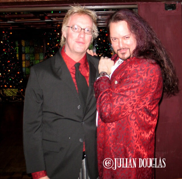 Jani & I all dressed up for my Christmas Party at The Magic Castle 12/18/05.
