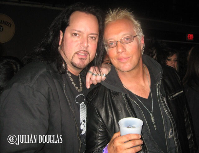 My favorite picture of Jani & I, the L.A. Guns at The Whisky A G-Go.. He looked so good, so healthy 1/19/11.