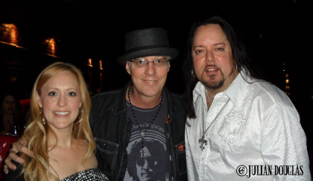 Jani with my wife Nicole & I at our Wedding Reception at the BriXton 4/11/11.