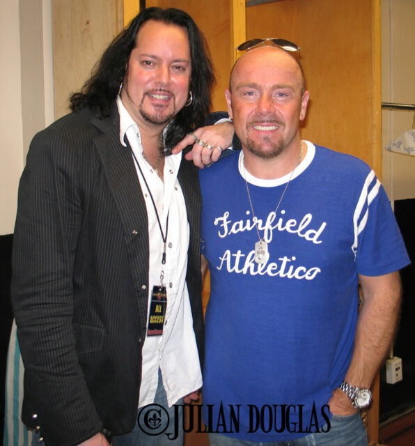 I've had the pleasure to work with Foreigner over the years, one of the best was when Jason Bonham was with them. March 2007.
