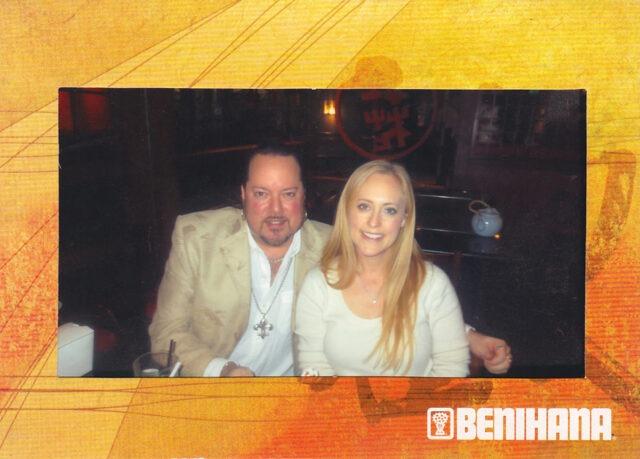 Dinner at their Beverly Hills location Nicole's Birthday week, January 2013 (photo courtesy of Benihana).