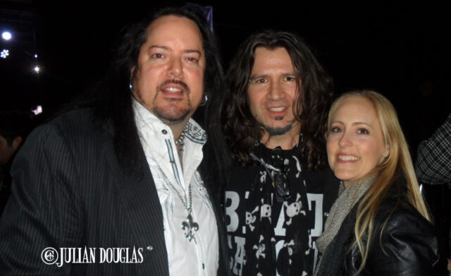 Nicole & I backstage at Bonzo Bash with one of our fav friends, Phil X of Bon Jovi, January 22nd, 2015.