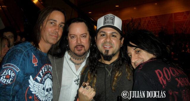 Last call at the Hilton Anaheim with close friends Craig, Phil & Tony, January 23rd, 2015.