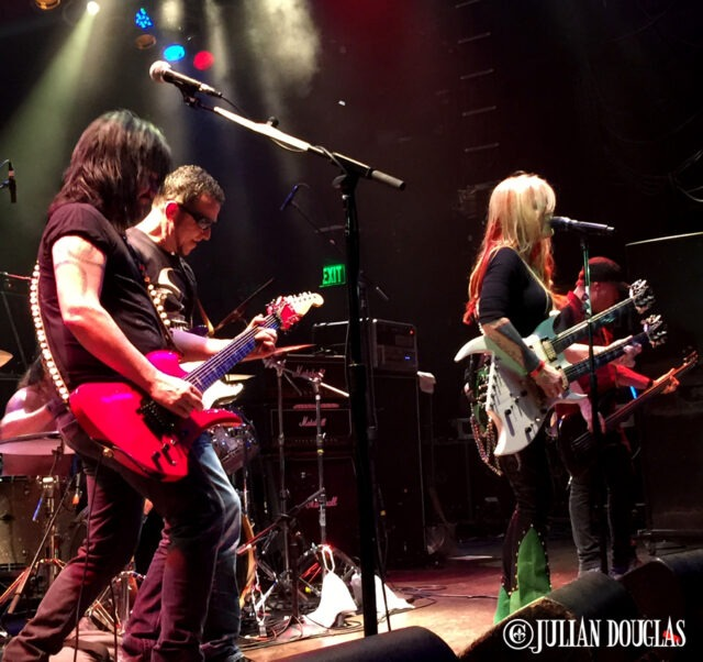 Lita Ford. Gary Hoey and the boys rocking the crowd out, January 23rd, 2015.