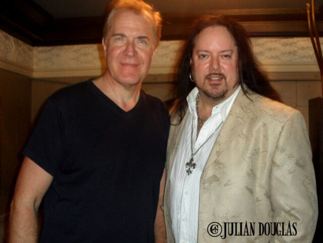 Good times again with Martin Fry, lead singer  of ABC, October 2014.