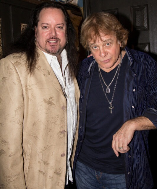 Another great night of many with Eddie Money, October 2013.