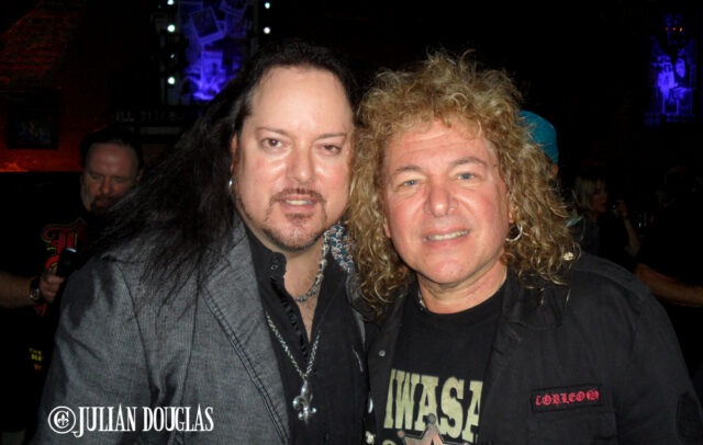 So many years, so many shows, I'm so lucky... Dave Meniketti of Y&T, May 2014.