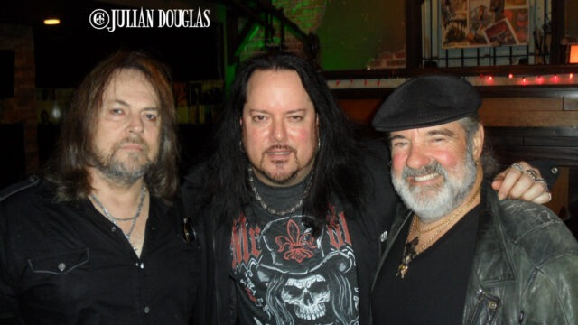 Getting a photo-op during Don's Meet & Greet after his Saint Rocke show, December 2012.