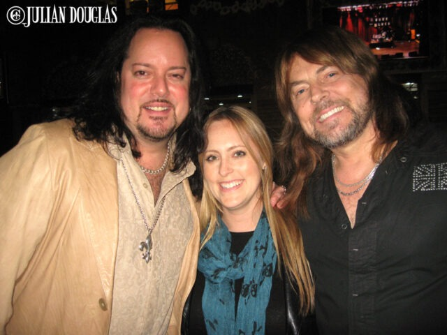 My wife Nicole & I hanging with Don after his show at the House Of Blues - Anaheim, November 2009.