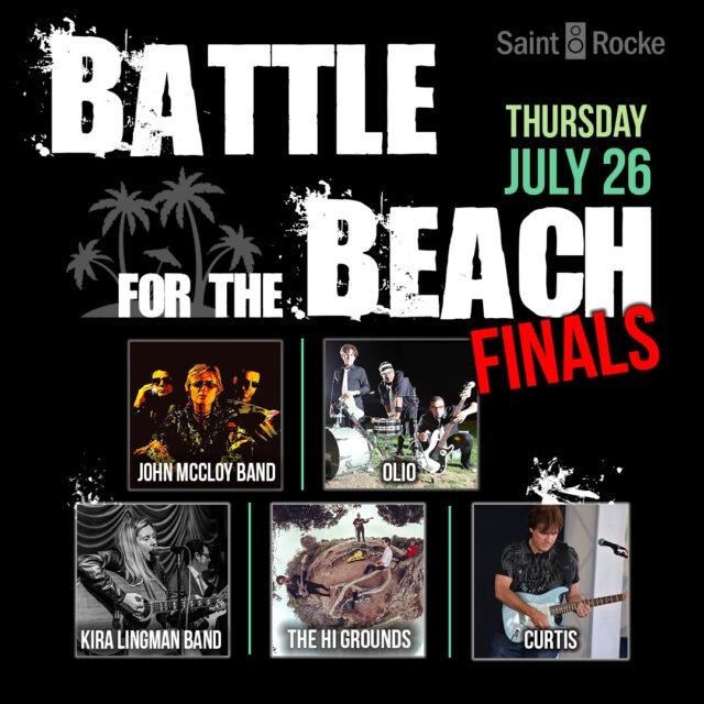 BATTLE FOR THE BEACH - THE FINALS @ SAINT ROCKE | Hermosa Beach | California | United States