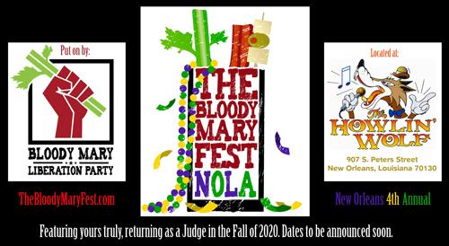 Bloody Mary Fest NOLA 2020