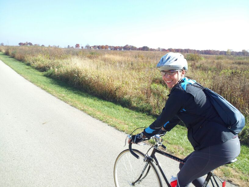 Oh, just a 100-mile bike ride