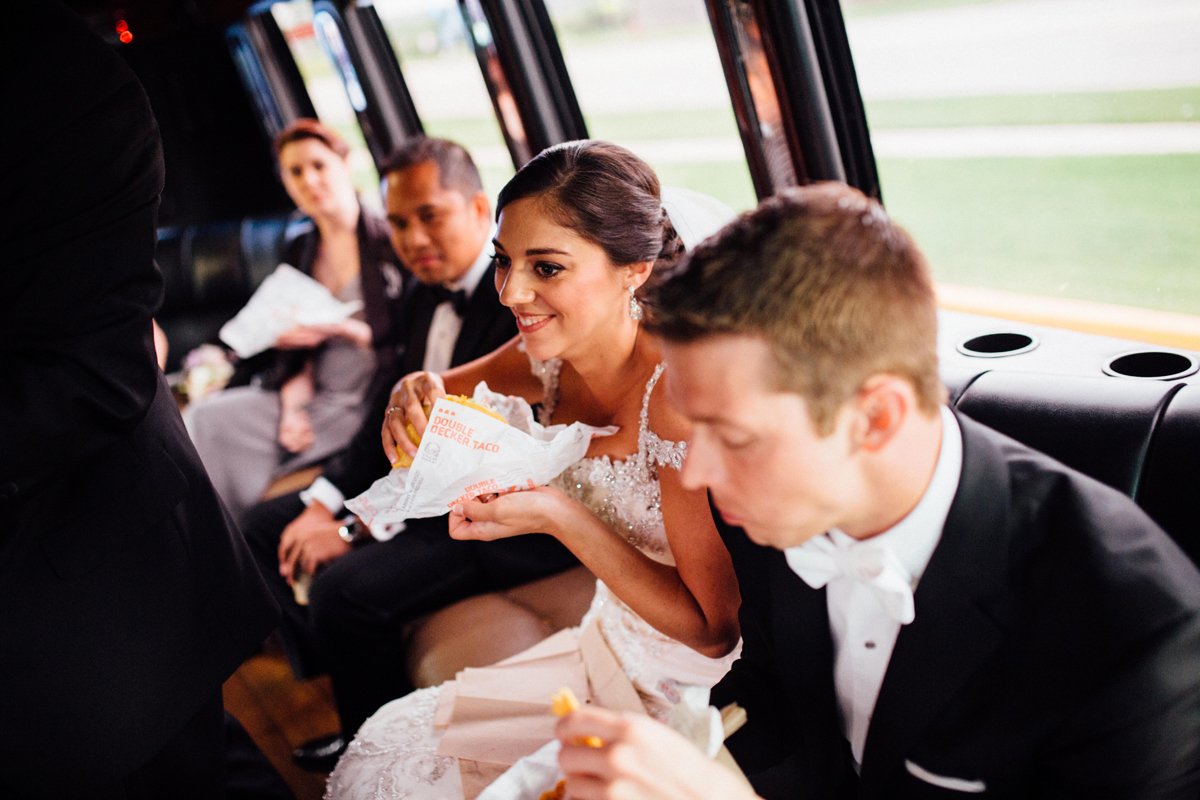 Post-Ceremony Tacos = BEST IDEA EVER.