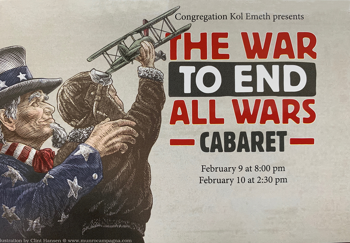 world war 1 cabaret