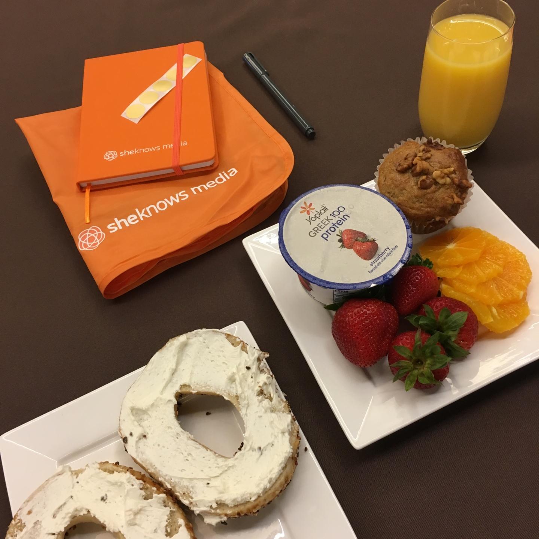 #BlogHer17 Breakfast