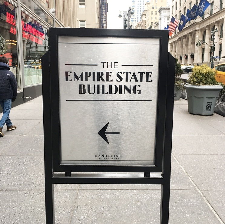 The Empire State Building Entrance