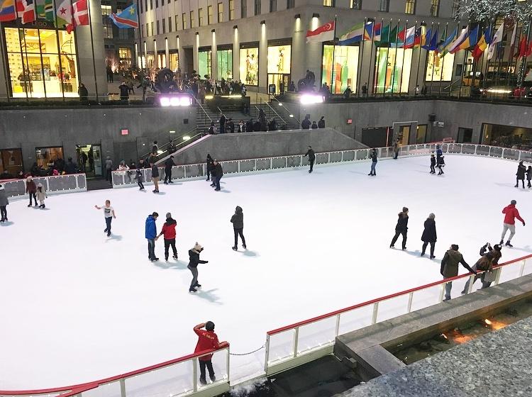 Rockefeller Center Ice Skating Rink