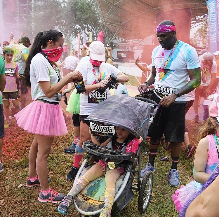 The Color Run Finish Festival