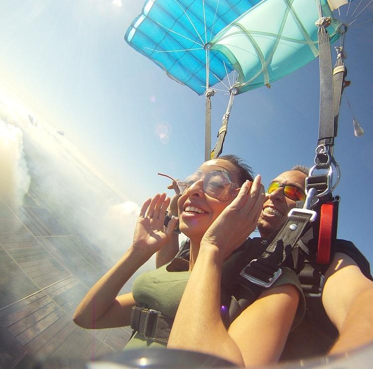 Parachute Flight