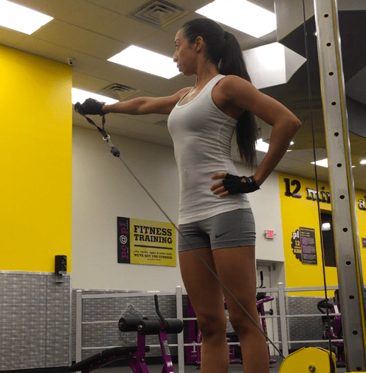 Upper Body Cable Workout
