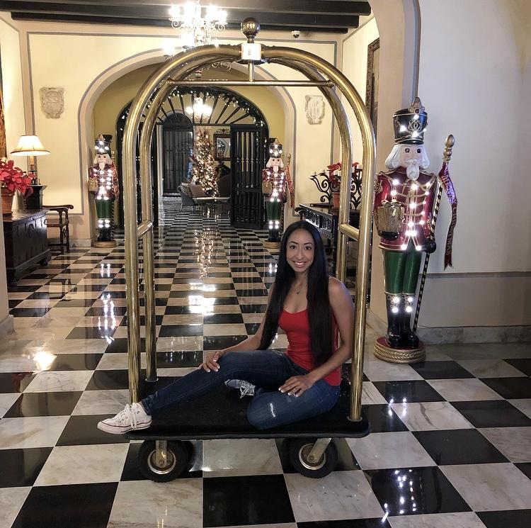 Hotel El Convento Luggage Cart