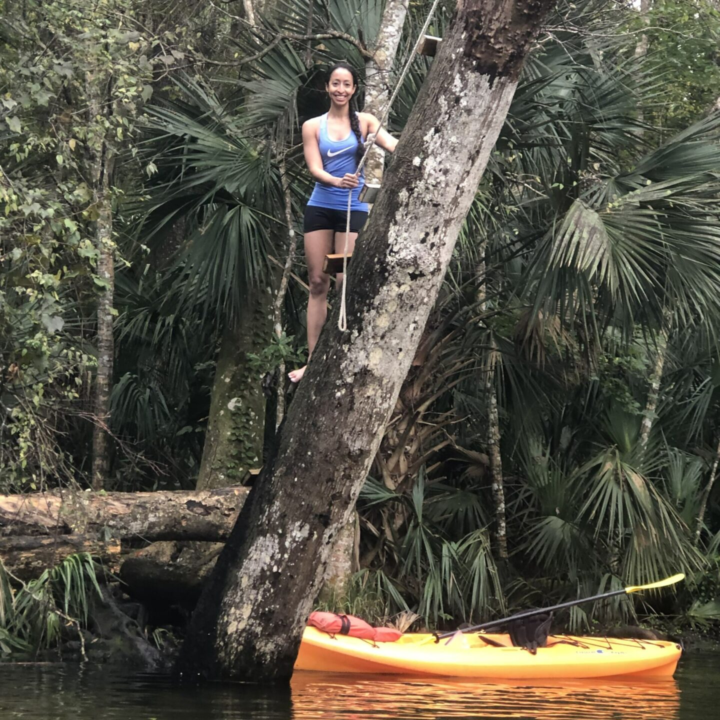 Weeki Wachee Rope Swing