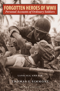A US Navy corpsman gives a drink of water to an injured Marine, during the Battle of Guam, August 1944. (Photo by FPG/Hulton Archive/Getty Images)