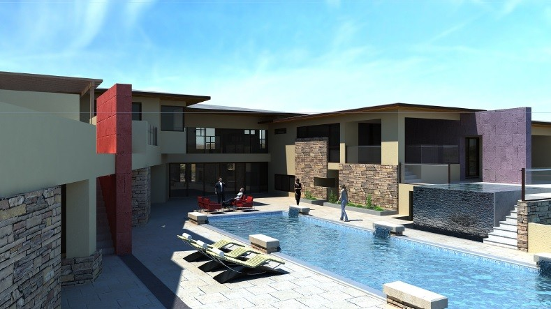 Exceptional Soft Contemporary PV New Build